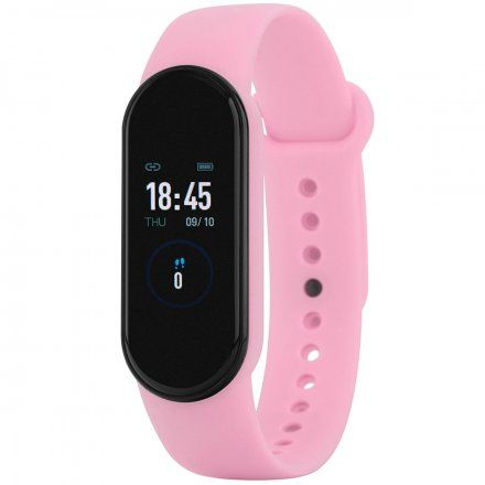 Pasteloworóżowa opaska sportowa Smartband Marea B57007/7