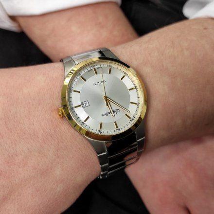Zegarek Męski Adriatica na bransolecie A1145.6113Q - Zegarek Kwarcowy Swiss Made