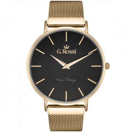 Zegarek G.Rossi złoty z bransoletką G.R11014B8-1D1