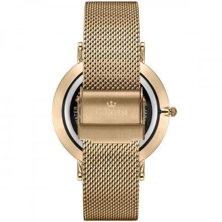 Zegarek Gino Rossi złoty z bransoletką G.R11014B8-1D1