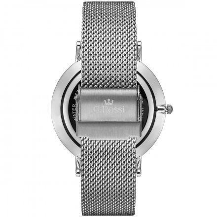 Zegarek Gino Rossi srebrny z bransoletką G.R11014B8-3C1