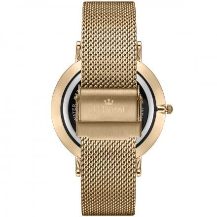 Zegarek G.Rossi złoty z bransoletką G.R11014B8-3D1