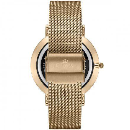 Zegarek Gino Rossi złoty z bransoletką G.R11014B8-4D1