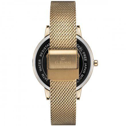 Zegarek damski Gino Rossi złoty z bransoletką G.R11715B2-3D1