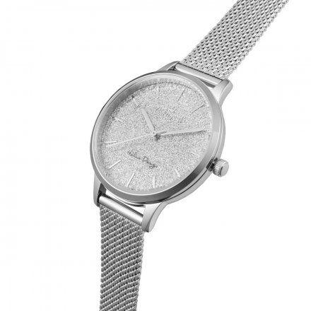 Zegarek damski Gino Rossi srebrny z bransoletką G.R12082B-3C1