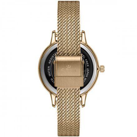 Zegarek damski G.Rossi złoty z bransoletką G.R12082B-3D1