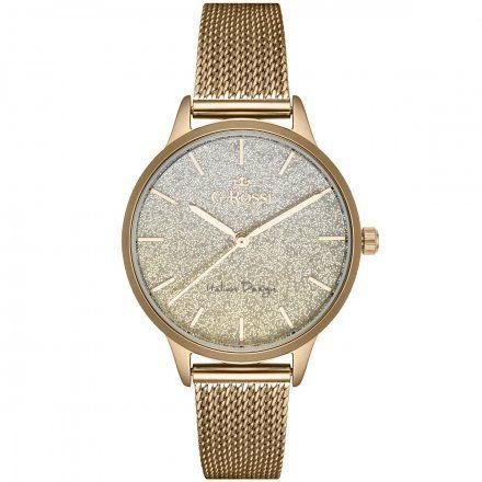 Zegarek damski Gino Rossi złoty z bransoletką G.R12082B-4D1