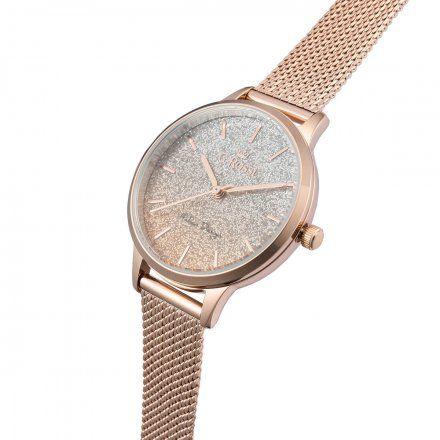 Zegarek damski G.Rossi różowozłoty z bransoletką G.R12082B-4D3