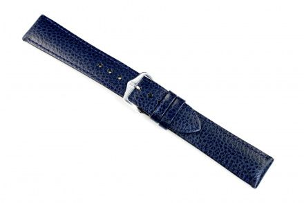 Niebieski pasek skórzany 14 mm HIRSCH Kansas 01502180-1-14 (M)