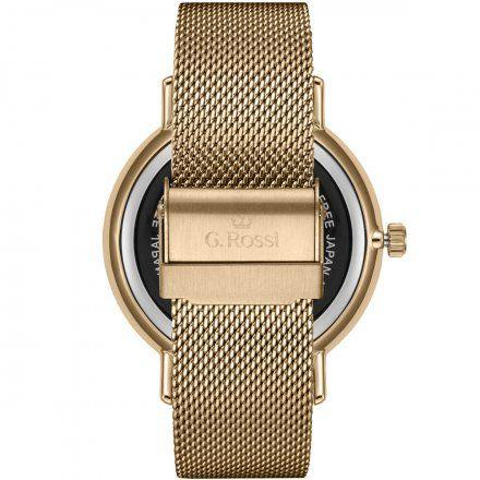 Zegarek damski G.Rossi złoty z bransoletką G.R12507B-3D1