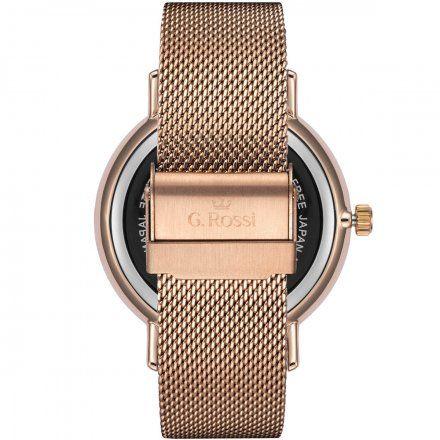 Zegarek damski Gino Rossi różowozłoty z bransoletką G.R12507B-3D3