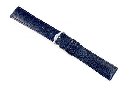 Niebieski pasek skórzany 24 mm HIRSCH Kansas 01502180-2-24 (M)
