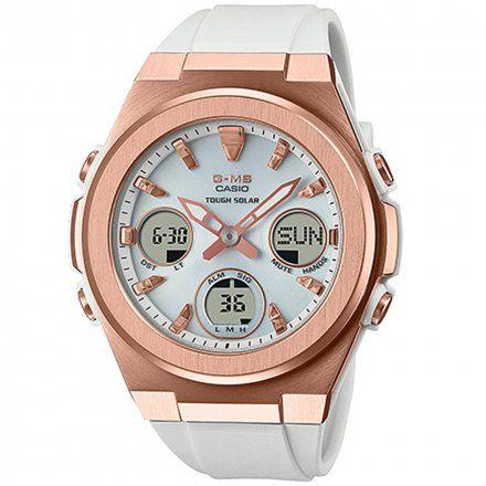Zegarek Damski Casio Baby-G Biały MSG-S600G-7AER