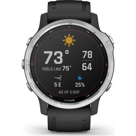 Zegarek Garmin Fenix 6S Solar z czarnym paskiem 010-02409-00