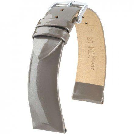 Srebrny pasek skórzany 16 mm HIRSCH Diva 01536138-2-16 (M)