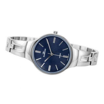 Zegarek damski Rubicon srebrny z bransoletą RNBE31SIDX03BX