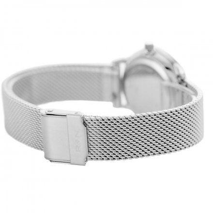 Zegarek damski Rubicon srebrny z bransoletąRNBE35SISX03BX
