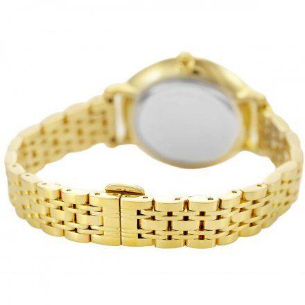 Zegarek damski Rubicon złoty z bransoletą RNBE52GISX03BX