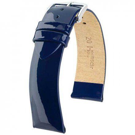 Niebieski pasek skórzany 20 mm HIRSCH Diva 01536180-2-20 (M)