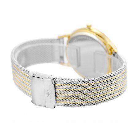 Zegarek damski Rubicon złoty z bransoletą RNBE53GISG03BX