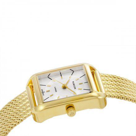 Zegarek damski Rubicon złoty z bransoletą RNBE34GISX03BX