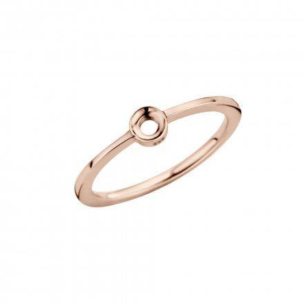 Pierścionek Melano Twisted Petite TR15 Różowe złoto