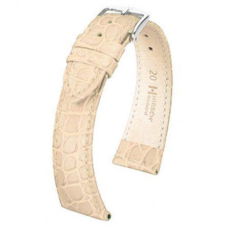 Beżowy pasek skórzany 18 mm HIRSCH Aristocrat 03828090-2-18 (L)