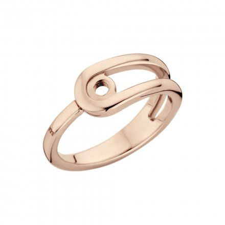 Pierścionek Melano Twisted Taheera M01R Różowe złoto