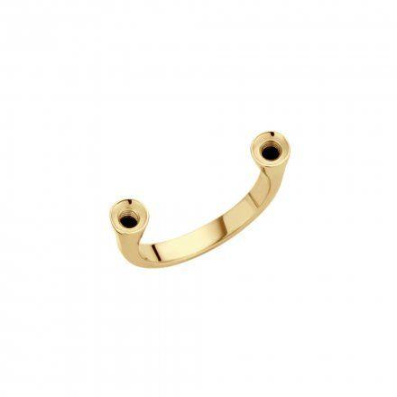 Pierścionek Melano Twisted Open Ring TR14 Złoty