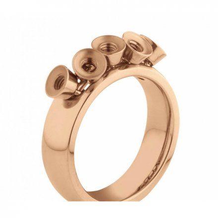 Pierścionek Melano Twisted Tess M01R Różowe złoto