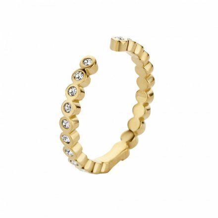 Pierścionek Melano Twisted Tina Crystal M01R Złoty