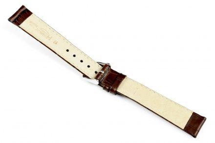 Brązowy pasek skórzany 19 mm HIRSCH Modena 10302810-2-19 (L)