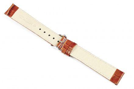Jasnobrązowy pasek skórzany 22 mm HIRSCH Modena 10302870-2-22 (L)