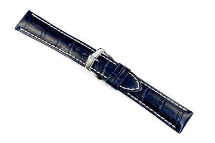 Niebieski pasek skórzany 18 mm HIRSCH Modena 10302880-2-18 (L)