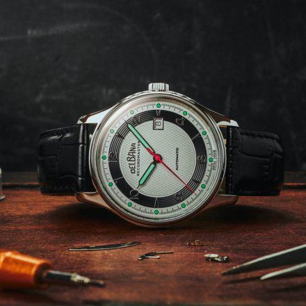 Delbana Recordmaster 416017226064 - Zegarek Szwajcarski 41601.722.6.064