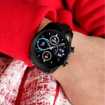 Smartwatch Pacific 15-1 Czarny z paskiem + Czarny pasek