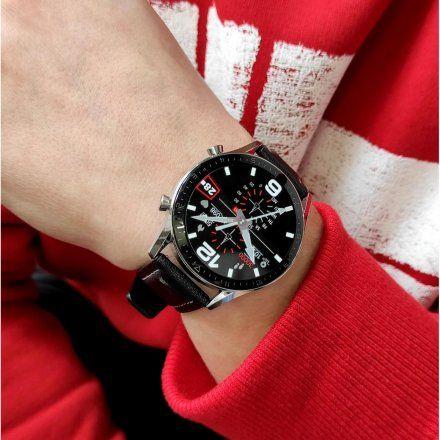 Sportowy Smartwatch Pacific 19-1 Srebrny Rozmowy Kroki