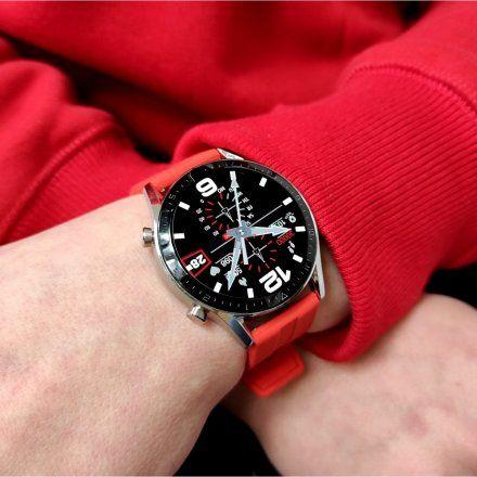 Sportowy Smartwatch Pacific 19-4 Srebrny Rozmowy Kroki