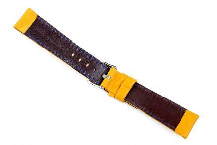 Jasnobrązowy pasek skórzany 18 mm HIRSCH Mariner 14502170-2-18 (L)