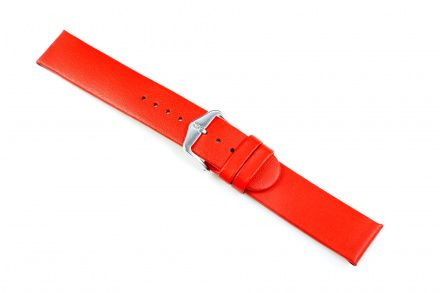 Czerwony pasek skórzany 20 mm HIRSCH Scandic 17852020-2-20 (M)