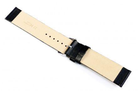 Czarny pasek skórzany 30 mm HIRSCH Scandic 17872050-2-30 (L)