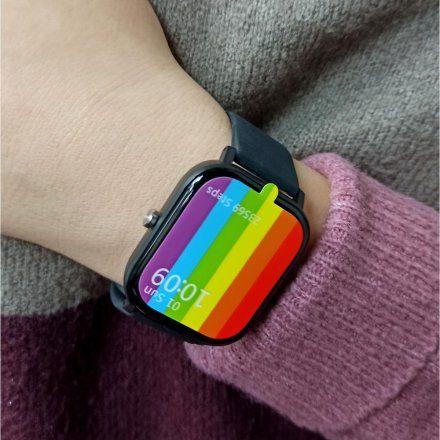 Smartwatch Pacific 20-5 Czarny Puls Kroki