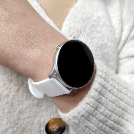 Smartwatch Pacific 25-3 Srebrny Puls Kroki