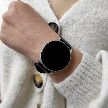 Smartwatch Pacific 25-4 Czarny Puls Kroki