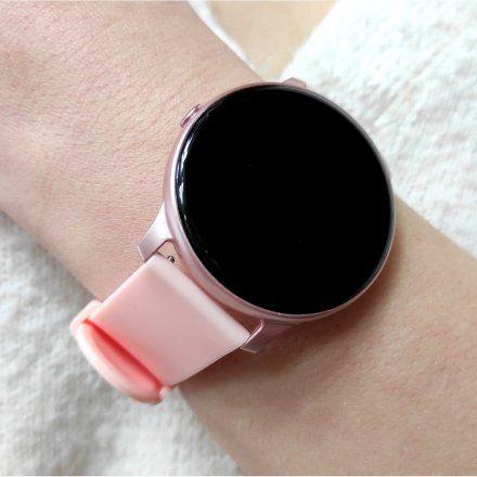 Smartwatch Pacific 25-5 Różowy Puls Kroki