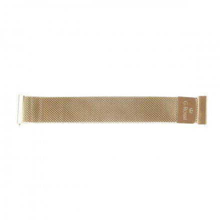 Bransoleta różowozłota do smartwatcha Gino Rossi SW017 18 mm