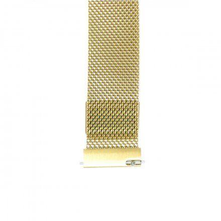 Bransoleta złota do smartwatcha Gino Rossi SW017 18 mm
