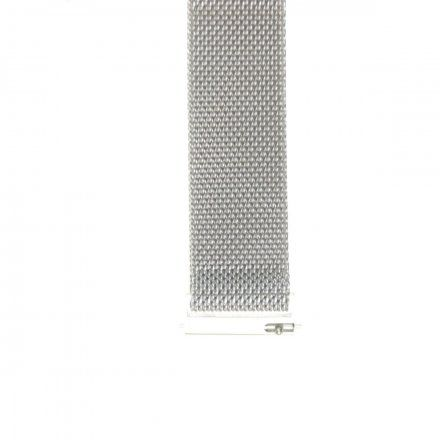 Bransoleta srebrna do smartwatcha Gino Rossi SW017 18 mm