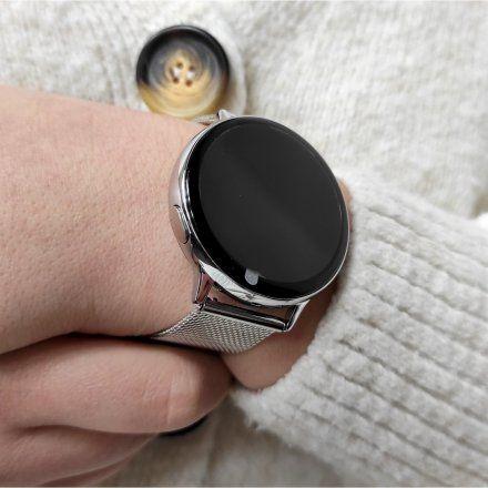 Smartwatch Pacific 24-11 Srebrny Puls Kroki