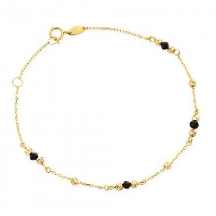Biżuteria SAXO Złota bransoletka kuleczki 2-17-B00487-1.35